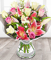 Florist Choice - Pinks and Whites