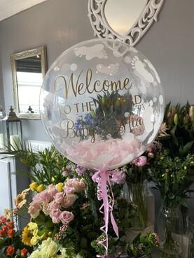 Personalised Bubble Balloon I New Baby I Baby Showers I